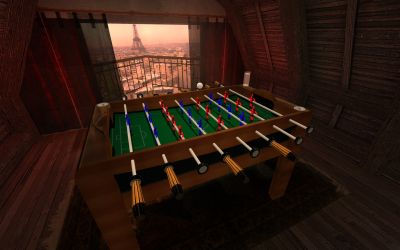 SDK-Project Mod - Fozzball Fever (French Table)